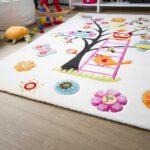 Kinderzimmer Teppiche Kinderteppich Modena Kids Eule Global Carpet Wohnzimmer Regal Weiß Regale Sofa Kinderzimmer Kinderzimmer Teppiche