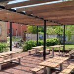 Pergola Holz Modern Selber Bauen Rosen Ohne Dach Bausatz Bauhaus Obi Hornbach Aus Selbst Anleitung Kaufen Stahl Glas Terrassenuberdachung Montage Regale Wohnzimmer Pergola Holz