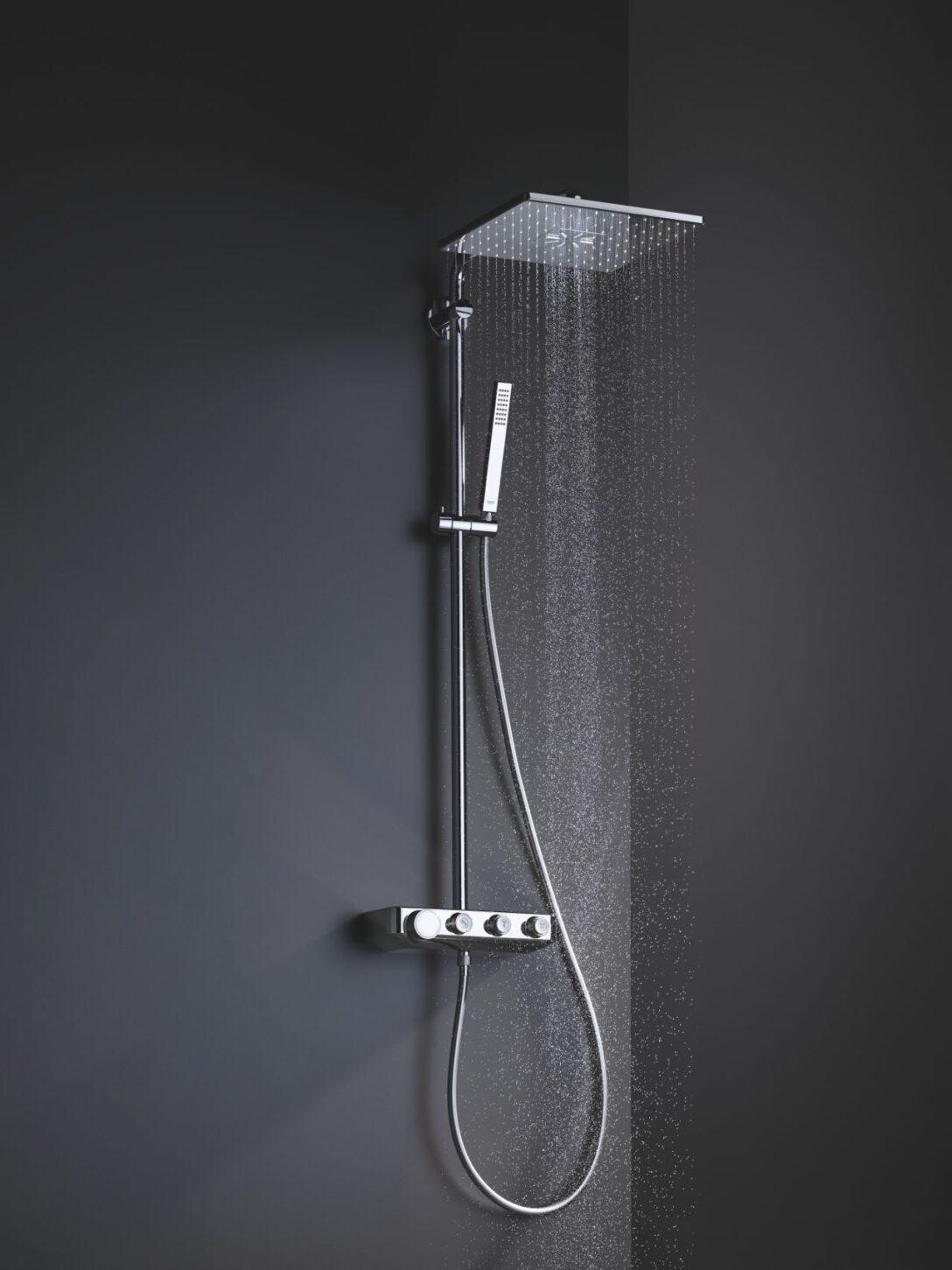 Large Size of Grohe Thermostat Dusche Duschsystem Fr Jede Duschgenuss Den Richtigen Mix Bodengleiche Nachträglich Einbauen Ebenerdig Sprinz Duschen Breuer Glastür Dusche Grohe Thermostat Dusche
