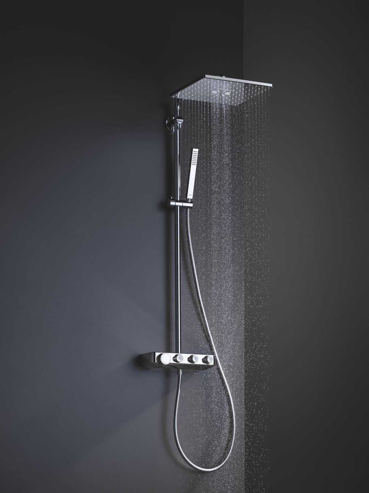 Full Size of Grohe Thermostat Dusche Duschsystem Fr Jede Duschgenuss Den Richtigen Mix Bodengleiche Nachträglich Einbauen Ebenerdig Sprinz Duschen Breuer Glastür Dusche Grohe Thermostat Dusche