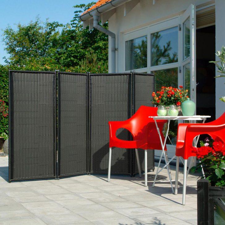 Medium Size of Paravent Balkon Trend 4 Teilig Garten Wohnzimmer Paravent Balkon