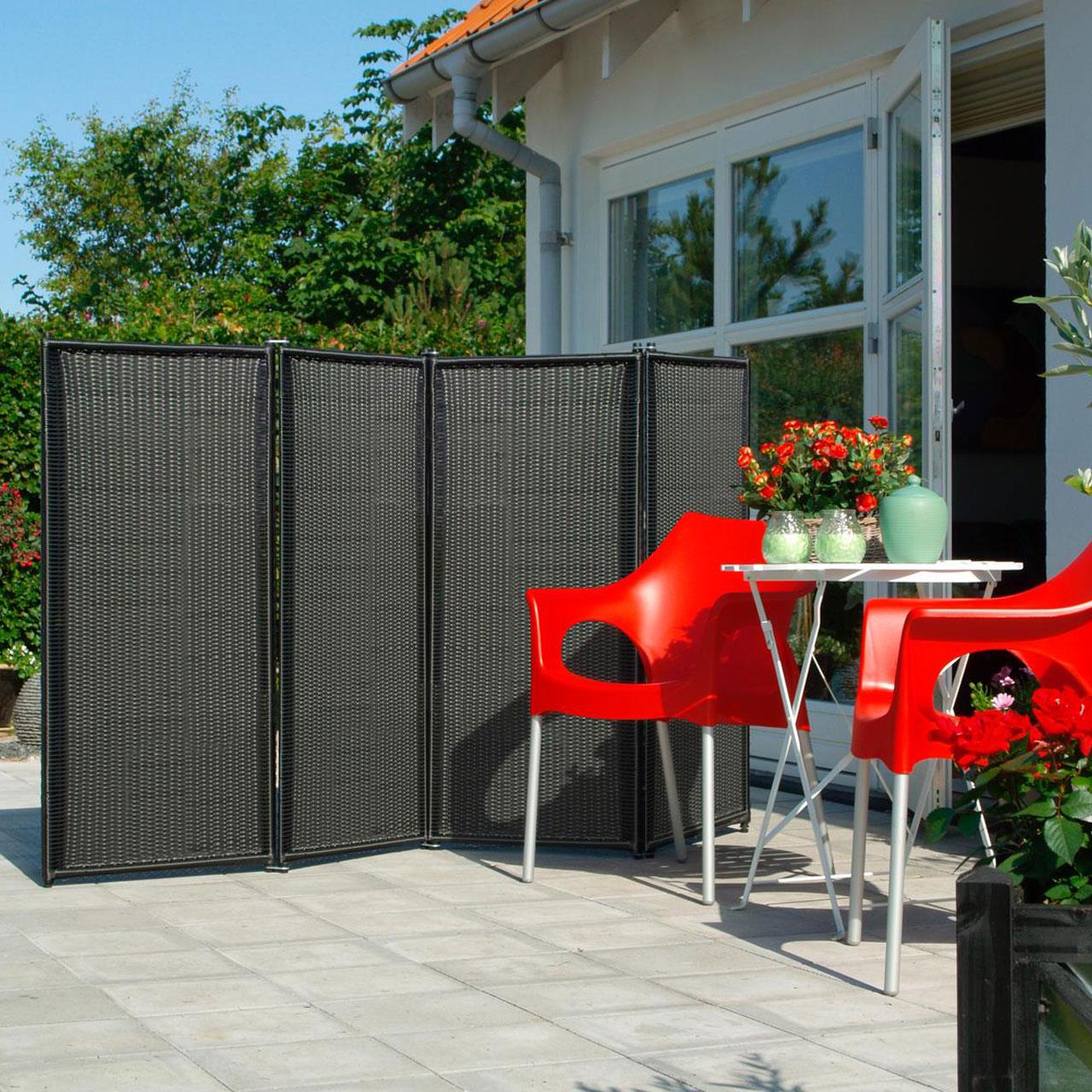 Full Size of Paravent Balkon Trend 4 Teilig Garten Wohnzimmer Paravent Balkon