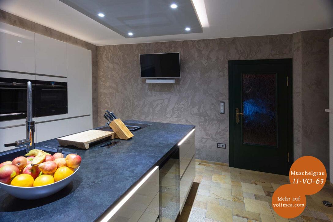 Large Size of Wandgestaltung Kche Fugenlose Oberflchen Gestaltung Deckenlampe Küche Kaufen Mit Elektrogeräten Planen Gardine Arbeitsplatte Abfalleimer Wasserhahn Wohnzimmer Wandgestaltung Küche