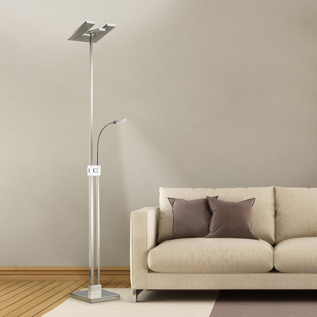 Full Size of Stehlampe Dimmbar Led Deckenfluter Mit Leseleuchte St15 Leuchtenservice Shop Wohnzimmer Stehlampen Schlafzimmer Wohnzimmer Stehlampe Dimmbar