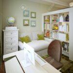 Jungen Kinderzimmer Kinderzimmer Jungen Fr Das Bett Mit Regalen Und Einem Regal Regale Weiß Sofa