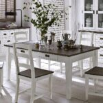 Esstisch Shabby Industrial Chic Massiv Quadratisch Mit 4 Stühlen Günstig 2m Groß Weiß Klein Esstische Massivholz Esstische Esstisch Shabby
