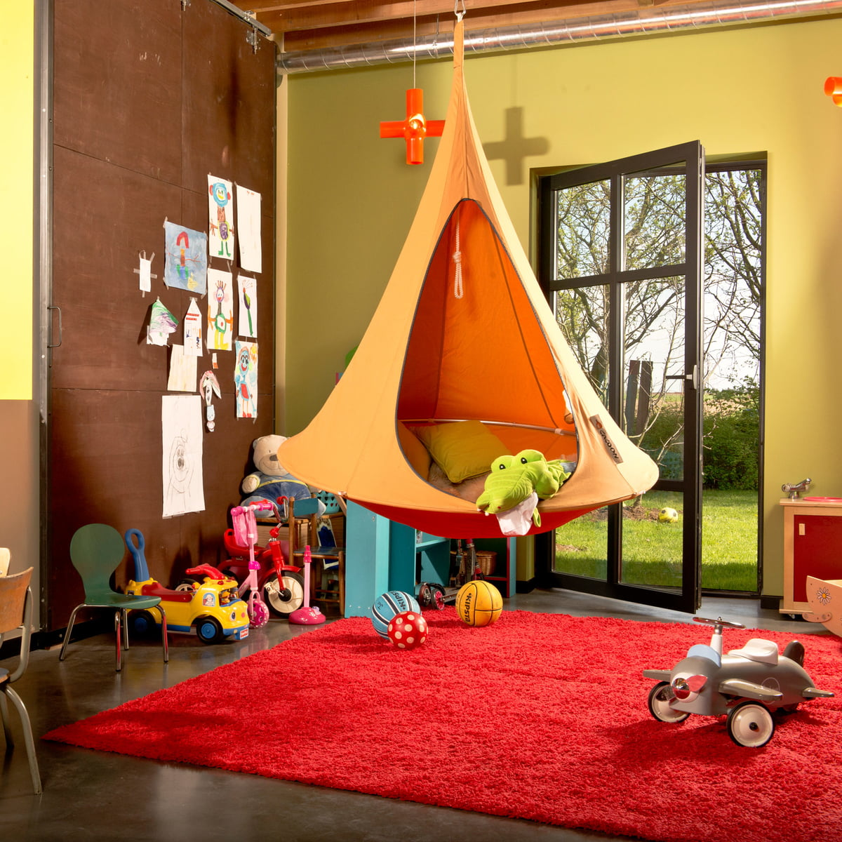 Full Size of Hängesessel Kinderzimmer Single Hngesessel Von Caconnox Regal Sofa Weiß Regale Garten Kinderzimmer Hängesessel Kinderzimmer