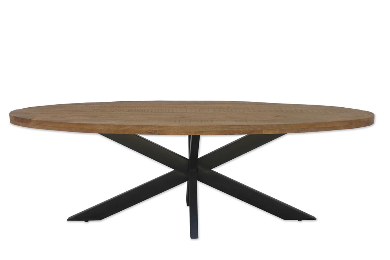 Full Size of Wood Esstisch 240x100 Cm Tischplatte Oval Aus Mangoholz 6 Und X Runde Esstische Groß Holz Shabby Chic Designer Lampen Glas Ausziehbar Modern Eiche Ovaler Esstische Ovaler Esstisch
