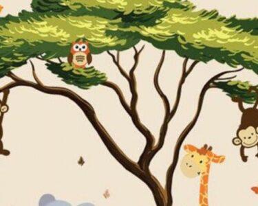 Wandtattoo Kinderzimmer Tiere Kinderzimmer Wandtattoo Kinderzimmer Tiere Safari Dschungel Babyzimmer Wandtattoos Wohnzimmer Bad Regal Weiß Sprüche Küche Regale Schlafzimmer Badezimmer
