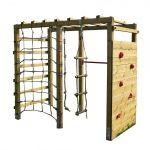 Klettergerüst Indoor Klettergerst Holz Mit Kletterwand Premium Spielturm Aus Garten Wohnzimmer Klettergerüst Indoor