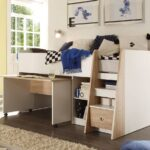 Hochbett Kinderzimmer Liegeflche 90 200 Cm Etagenbett Gnstig Online Regal Weiß Sofa Regale Kinderzimmer Hochbett Kinderzimmer
