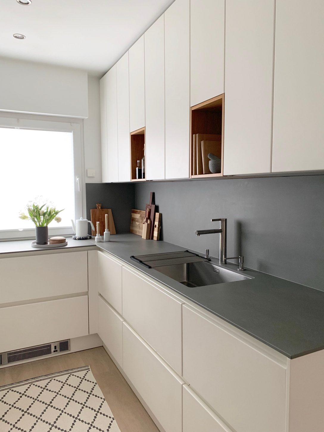 Large Size of Küchen Ideen Grifflose Kche Bilder Couch Bad Renovieren Regal Wohnzimmer Tapeten Wohnzimmer Küchen Ideen