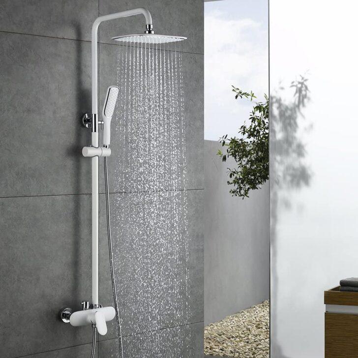 Medium Size of Homelody Duscharmatur Wei Duschsystem Rainshower Regendusche Breuer Duschen Ebenerdige Dusche Kosten Badewanne Hüppe Glaswand Kaufen Thermostat Anal Einbauen Dusche Rainshower Dusche