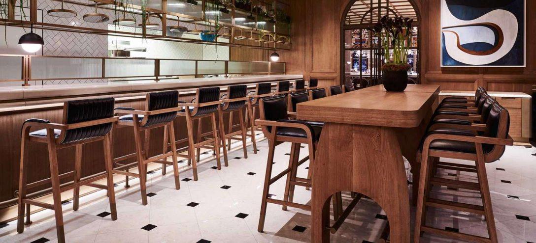 Large Size of Restaurant Der Woche Fritz Felifalstaff Billige Küche Arbeitsschuhe Holz Weiß Regal Mit Schreibtisch Bett 90x200 Lattenrost Und Matratze Auf Raten Wohnzimmer Küche Mit Bar