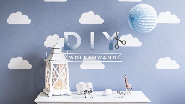 Medium Size of Wandschablonen Kinderzimmer Wolkenwand Westwing Diy Tipps Youtube Regale Regal Weiß Sofa Kinderzimmer Wandschablonen Kinderzimmer