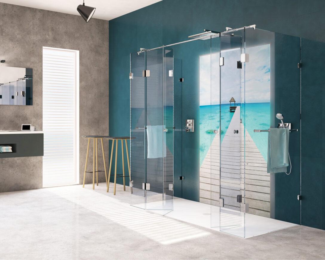 Dusche Wand Badewannentausch Gegen Eine Hwz Lärmschutzwand Garten Kosten Koralle Begehbare Duschen Wohnzimmer Wohnwand Haltegriff Bodenebene Trennwand