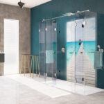 Dusche Wand Badewannentausch Gegen Eine Hwz Lärmschutzwand Garten Kosten Koralle Begehbare Duschen Wohnzimmer Wohnwand Haltegriff Bodenebene Trennwand Dusche Dusche Wand