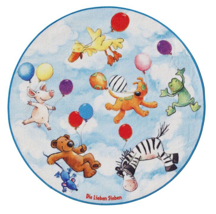 Medium Size of Runder Teppich Kinderzimmer Spielteppich Lieben Sieben In Blau Regal Schlafzimmer Küche Wohnzimmer Teppiche Sofa Badezimmer Esstisch Ausziehbar Für Kinderzimmer Runder Teppich Kinderzimmer