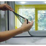 Schellenberg Insektenschutz Magnetrahmen 100x120 Cm Magnettafel Küche Fliegengitter Fenster Maßanfertigung Für Wohnzimmer Fliegengitter Magnet