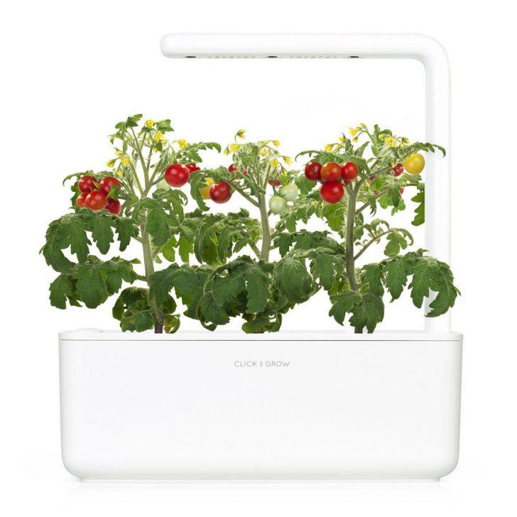 Medium Size of Click And Grow Krutertopf Smart Garden 3 Weiss Kräutertopf Küche Wohnzimmer Kräutertopf