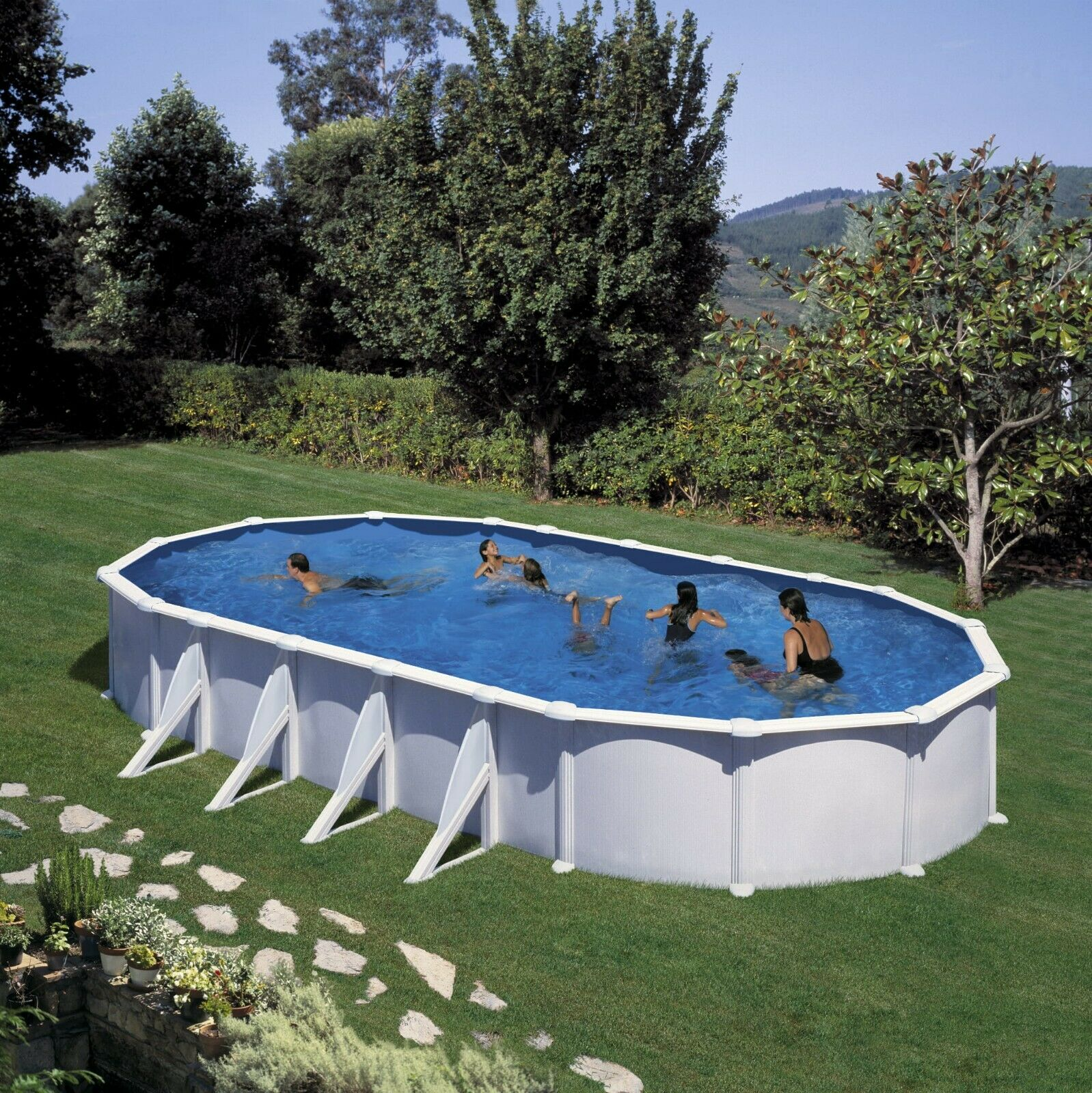 Full Size of Gartenpool Rechteckig Mit Pumpe Sandfilteranlage Holz Kaufen Intex Bestway Test Obi Garten Pool 3m 915 470 132 Cm Stahlkonstruktion Wohnzimmer Gartenpool Rechteckig