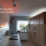 Beleuchtung Küche Moderne Led Kche Dualweisse Streifen Youtube Waschbecken Anrichte Teppich Für Fenster Fliesenspiegel Selber Machen Armaturen Laminat Blende Wohnzimmer Beleuchtung Küche