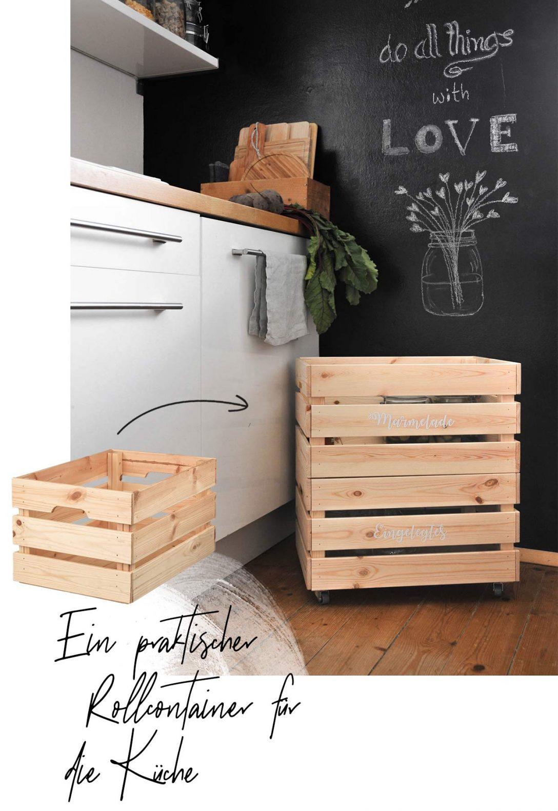 Large Size of Toller Ikea Hack Einen Rollcontainer Selber Bauen Wohnklamotte Küche Günstig Mit Elektrogeräten Hängeschränke Modul Obi Einbauküche Arbeitsplatte Wohnzimmer Ikea Hacks Küche