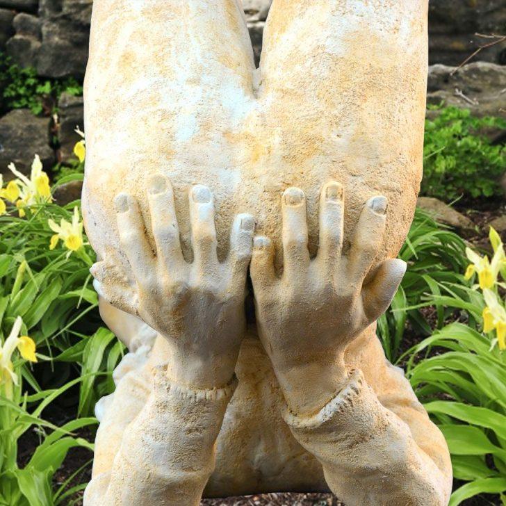 Medium Size of Garten Deko Skulptur Mit Elfe Area Pavillon Skulpturen Eckbank Kinderhaus Loungemöbel Holz Bewässerung Sichtschutz Zaun Schaukel Für Ausziehtisch Wohnzimmer Skulptur Garten