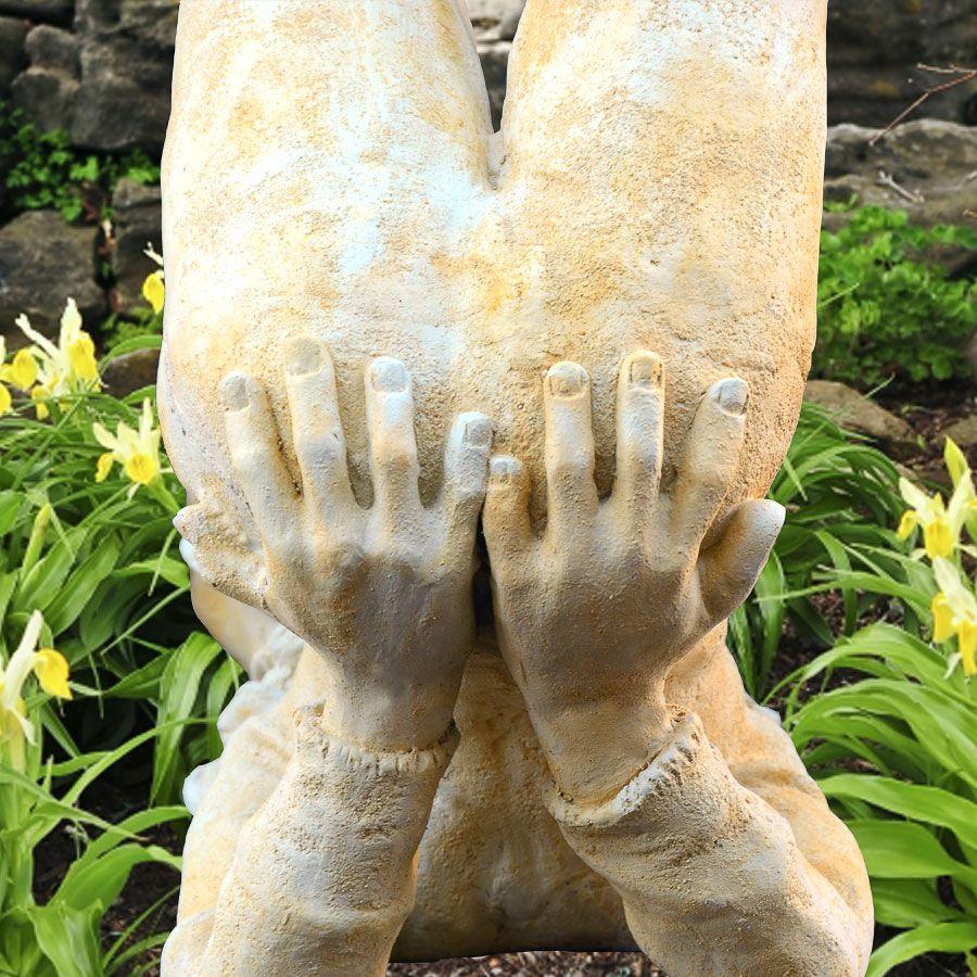 Full Size of Garten Deko Skulptur Mit Elfe Area Pavillon Skulpturen Eckbank Kinderhaus Loungemöbel Holz Bewässerung Sichtschutz Zaun Schaukel Für Ausziehtisch Wohnzimmer Skulptur Garten