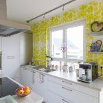 Küche Tapete Wir Tapezieren Ihre Kche Malerfachbetrieb Heyse Ihr Mischbatterie Landhaus Modern Blende Laminat Vinylboden Günstig Kaufen Sitzbank Mit Lehne Wohnzimmer Küche Tapete