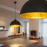 Wohnzimmer Lampe Wohnzimmer Wohnzimmer Lampe Led Decken 40 Cm Schwarz Gold Loft Design Industrie Fabrik Wandtattoo Deckenlampe Küche Lampen Esstisch Designer Bogenlampe Hängeschrank