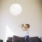 Deckenlampen Kinderzimmer Kinderzimmer Deckenlampe Kinderzimmer Lampenschirm Wale Handmade Wohnzimmer Regal Deckenlampen Für Modern Regale Sofa Weiß