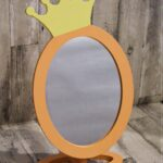 Spiegel Kinderzimmer Kinderzimmer Spiegel Kinderzimmer Knigin Krone Mdchen Violett Dekoration Fliesenspiegel Küche Selber Machen Spiegelleuchte Bad Badezimmer Spiegelschrank Mit Beleuchtung