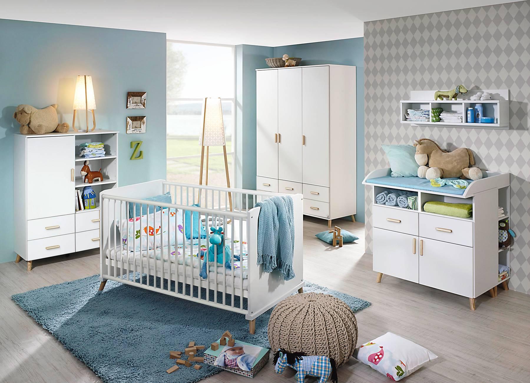 Full Size of Babyzimmer Komplett Set 4 Teilig Alpinwei Esche Coimbra Schlafzimmer Massivholz Komplettes Regal Badezimmer Günstige Kinderzimmer Wohnzimmer Mit Lattenrost Kinderzimmer Baby Kinderzimmer Komplett