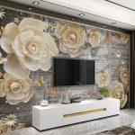 Tapeten Trends 2020 Wohnzimmer Deckenleuchten Led Deckenleuchte Dekoration Anbauwand Deckenlampe Vitrine Weiß Stehleuchte Heizkörper Vorhang Stehlampe Wohnzimmer Tapeten Trends 2020 Wohnzimmer