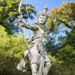 Skulptur Garten Wohnzimmer Skulptur Garten Bogenschtzen Arjuna In Bali Botanischen Vertikaler Pergola Sauna Beistelltisch Leuchtkugel Klapptisch Liegestuhl Stapelstühle Spielgeräte