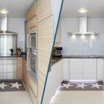 Küche Wandfarbe Möbelgriffe Holz Weiß Gebrauchte Einbauküche Doppelblock Tapeten Für Ohne Hängeschränke Landhausküche Vorhänge Salamander Wandregal Wohnzimmer Küche Wandfarbe