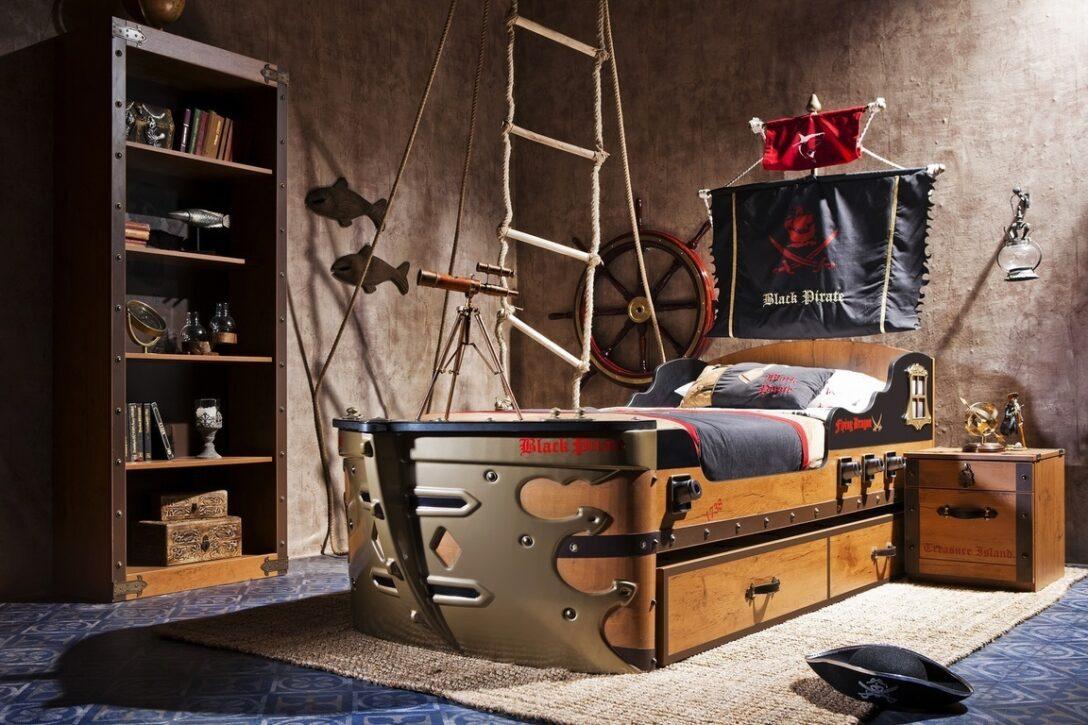 Large Size of Piraten Kinderzimmer Set Schiffsbett Bymm Frei Haus Precogs Regale Regal Weiß Sofa Kinderzimmer Piraten Kinderzimmer