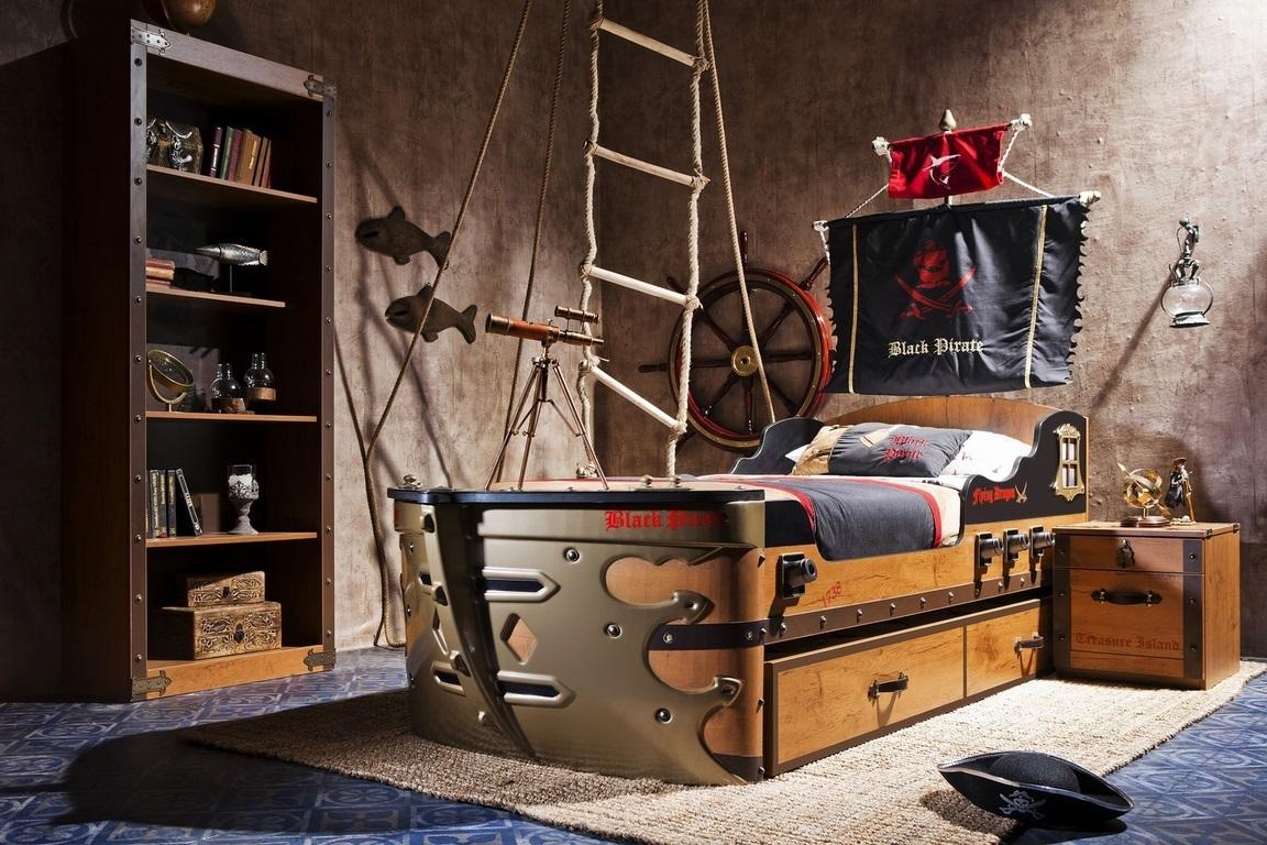 Full Size of Piraten Kinderzimmer Set Schiffsbett Bymm Frei Haus Precogs Regale Regal Weiß Sofa Kinderzimmer Piraten Kinderzimmer