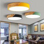 Holzlampe Decke Wohnzimmer Holzlampe Nordic Holz Led Bunte Lampen Wohnzimmer Im Bad Küche Bett Schlafzimmer Für Betten Lampe