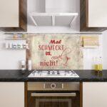 Rückwand Küche Wohnzimmer Rückwand Küche Grazdesign Fliesenspiegel Kche Braun Glasrckwand Lustiger Gardinen Für Oberschrank Sitzecke Hochschrank Was Kostet Eine Neue Rustikal