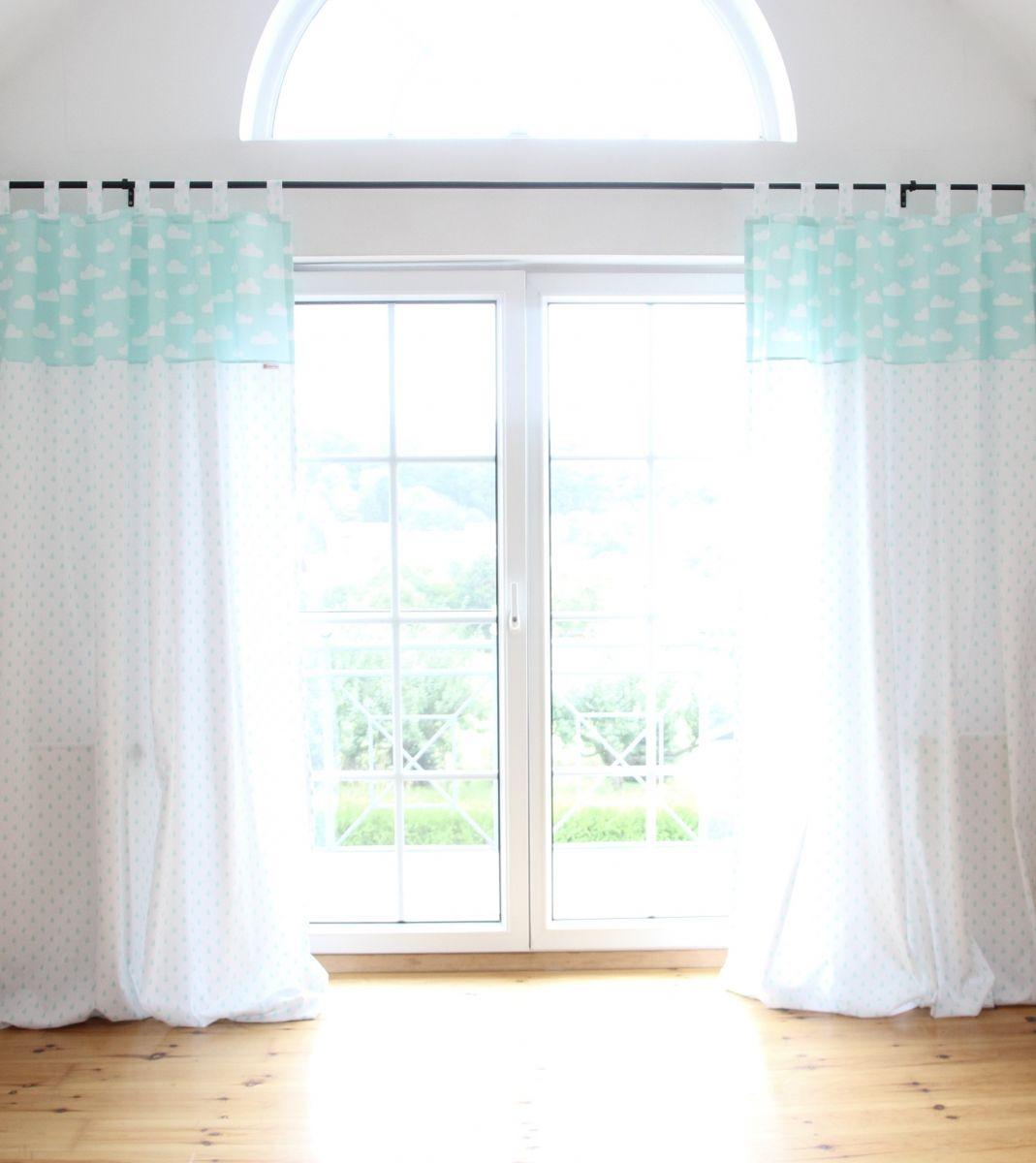 Full Size of Kinderzimmer Vorhang Wolken Tropfen Mint Wei Junge Wohnzimmer Regal Weiß Bad Sofa Regale Küche Kinderzimmer Kinderzimmer Vorhang