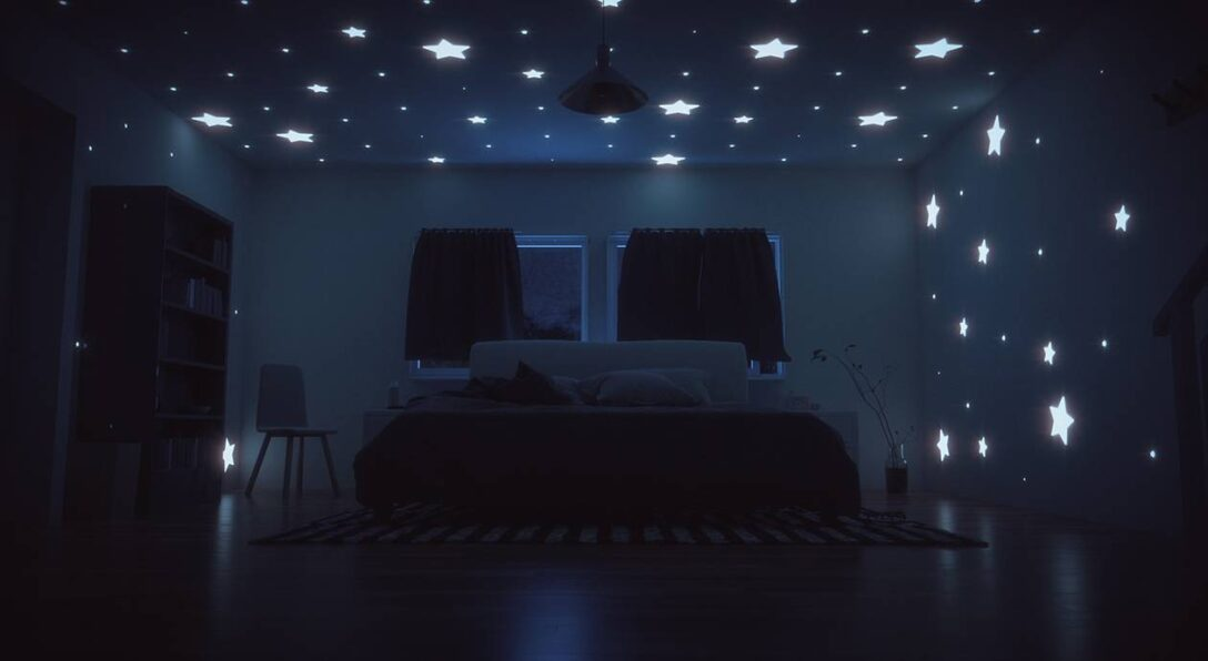 Large Size of Sternenhimmel Kinderzimmer Romantisches Diy Frs Schlafzimmer Bett1de Sofa Regal Weiß Regale Kinderzimmer Sternenhimmel Kinderzimmer