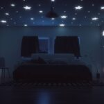 Sternenhimmel Kinderzimmer Romantisches Diy Frs Schlafzimmer Bett1de Sofa Regal Weiß Regale Kinderzimmer Sternenhimmel Kinderzimmer