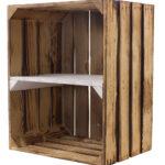 Regal Aus Kisten Selber Bauen Basteln Kaufen Holz Holzkisten Regale Bauanleitung System Ikea Birnenkisten Neue Geflammte Holzkiste Hochkant Mit Weiem Cd Dvd Regal Regal Aus Kisten