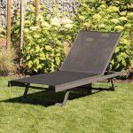 Siena Garden Tropic Liege Aluminium Textilene Garten Und Freizeit Wohnzimmer Gartenliege Wetterfest