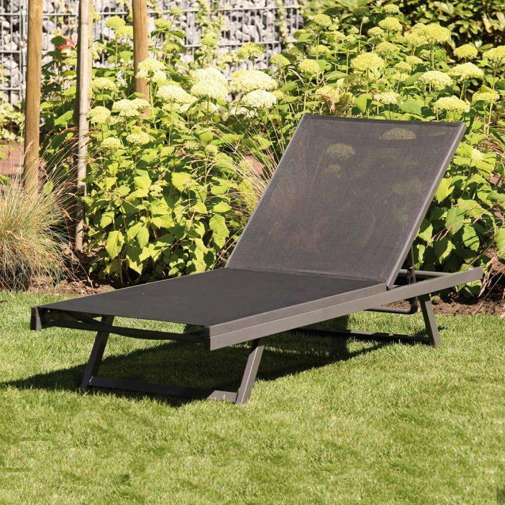 Medium Size of Siena Garden Tropic Liege Aluminium Textilene Garten Und Freizeit Wohnzimmer Gartenliege Wetterfest