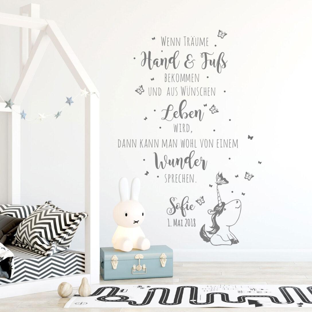 Large Size of Wandtattoo Babyzimmer Spruch Einhorn Zitat Schmetterlinge Regal Kinderzimmer Sofa Regale Weiß Wanddeko Küche Kinderzimmer Kinderzimmer Wanddeko