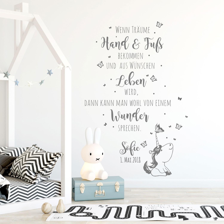 Full Size of Wandtattoo Babyzimmer Spruch Einhorn Zitat Schmetterlinge Regal Kinderzimmer Sofa Regale Weiß Wanddeko Küche Kinderzimmer Kinderzimmer Wanddeko