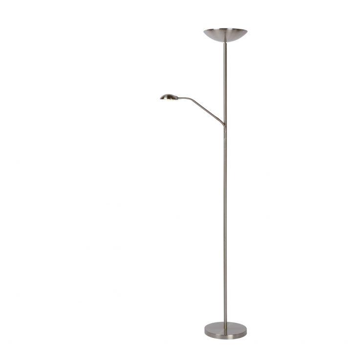 Medium Size of Stehlampe Dimmbar Led Deckenfluter 20w Zenith 180 Cm Alu Mit Leselampe Wohnzimmer Stehlampen Schlafzimmer Wohnzimmer Stehlampe Dimmbar